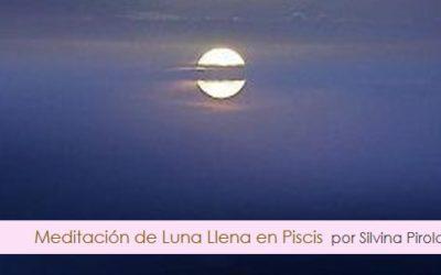 Meditación de Luna Llena en Piscis