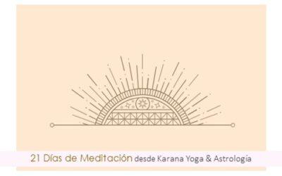 Inicia 21 Días de Meditación ¿Te sumas?